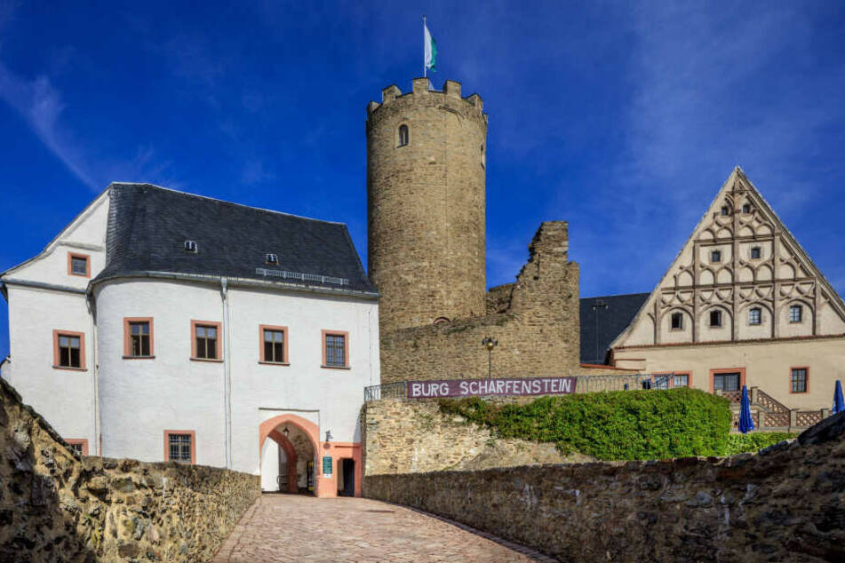Auf der Burg Scharfenstein entsteht bis zum April ein Mittelalter-Dorf.