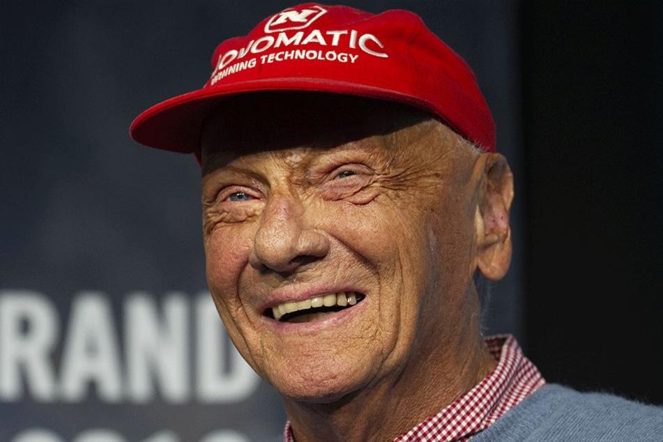 Niki Lauda (69) im Juni vor seiner OP.