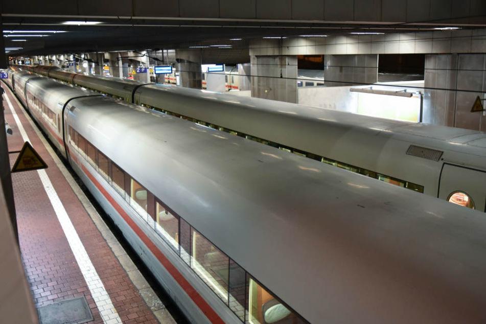 Am Bahnhof Kassel-Wilhemshöhe wurde der Randalierer der Bundespolizei übergeben. (Symbolbild)
