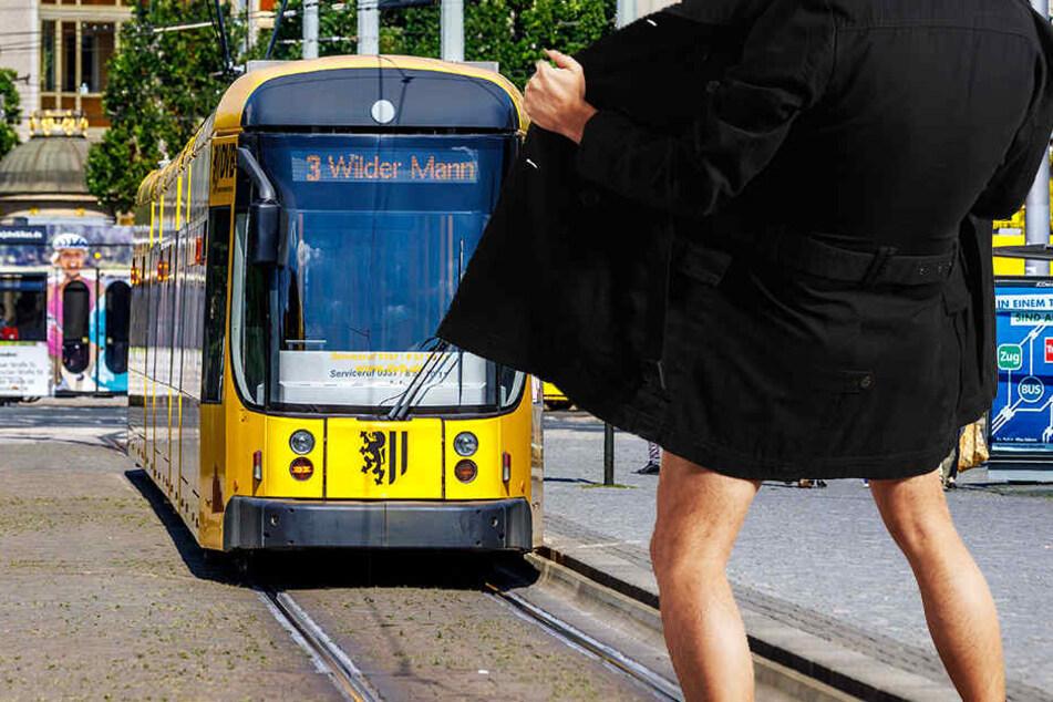 Ein Mann zeigte einer Straßenbahnfahrerin jetzt sein Geschlechtsteil (Symbolbild).
