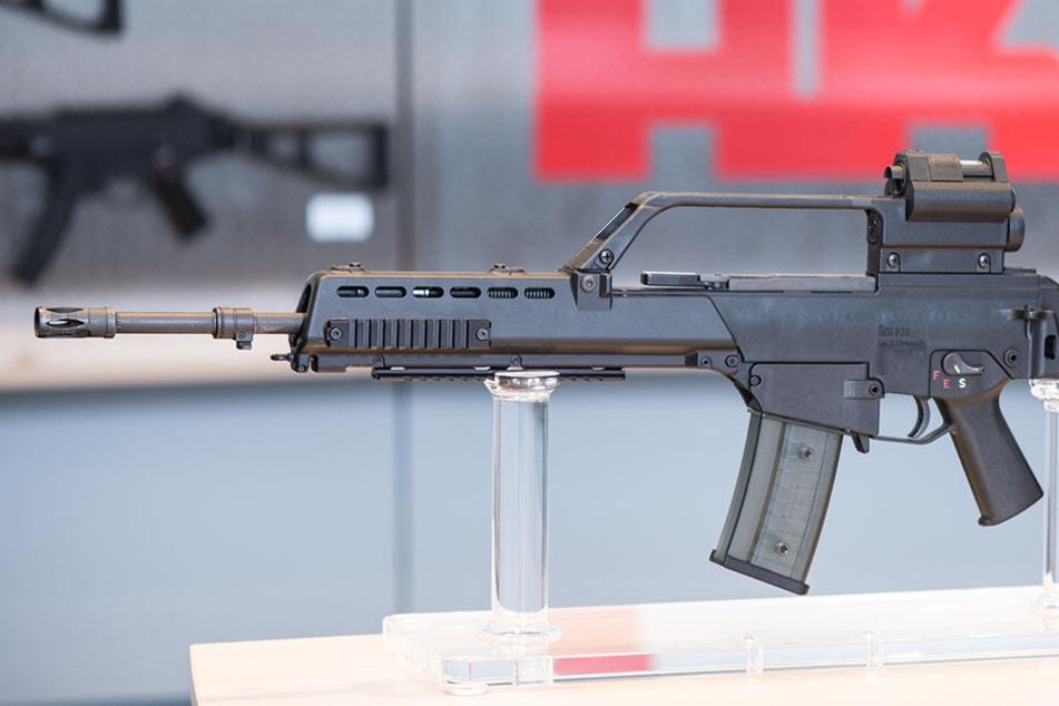 Mitarbeiter von Heckler & Koch sollen illegal Waffen nach Mexiko exportiert haben. (Symbolbild)