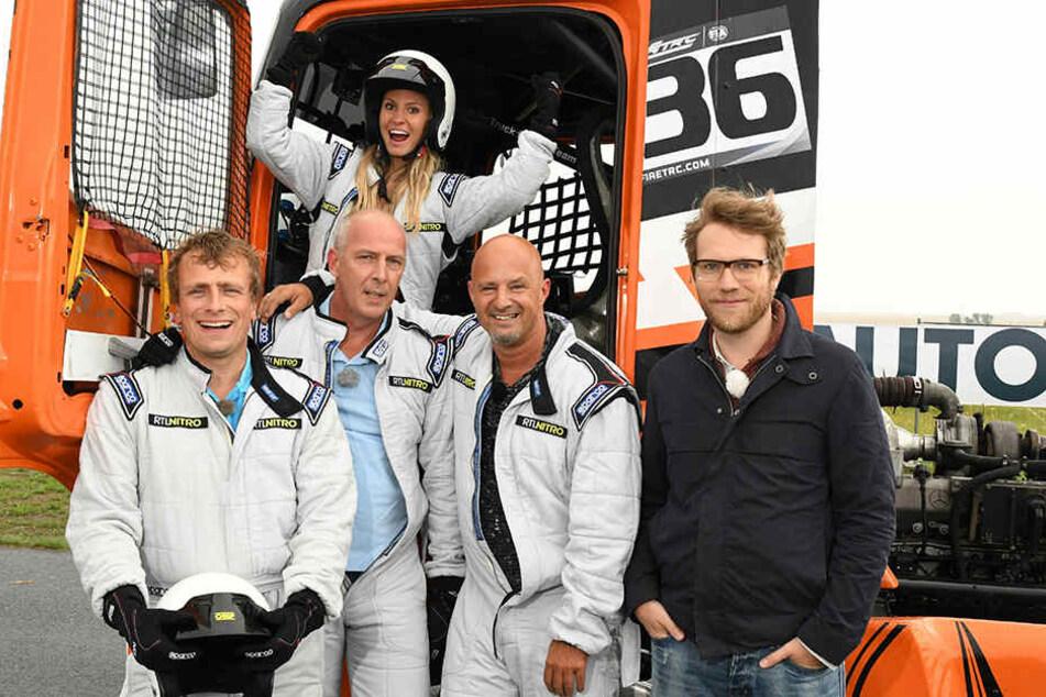 Auf RTL Nitro will sie jetzt ihren Promi-Mitfahrern zeigen, wie man richtig Auto fährt.