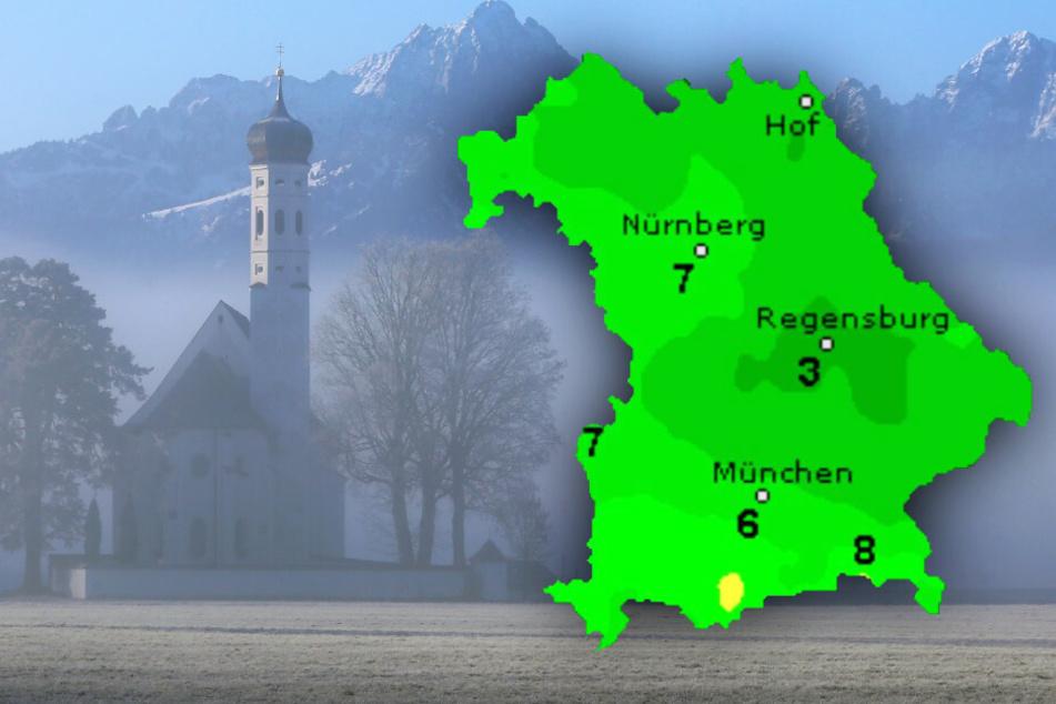 Das Wochenende steht vor der Tür: So wird das Wetter in Bayern