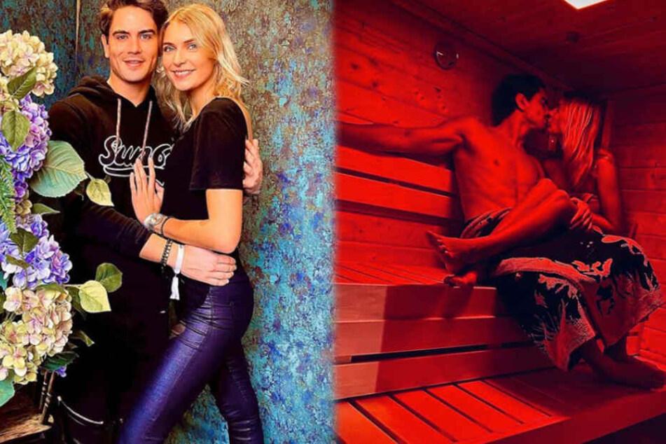 Ex-GNTM-Zweite Jolina ist Sauna-Fan, ihr Dominik nicht so: Was er dann aber für sie macht, ist süß