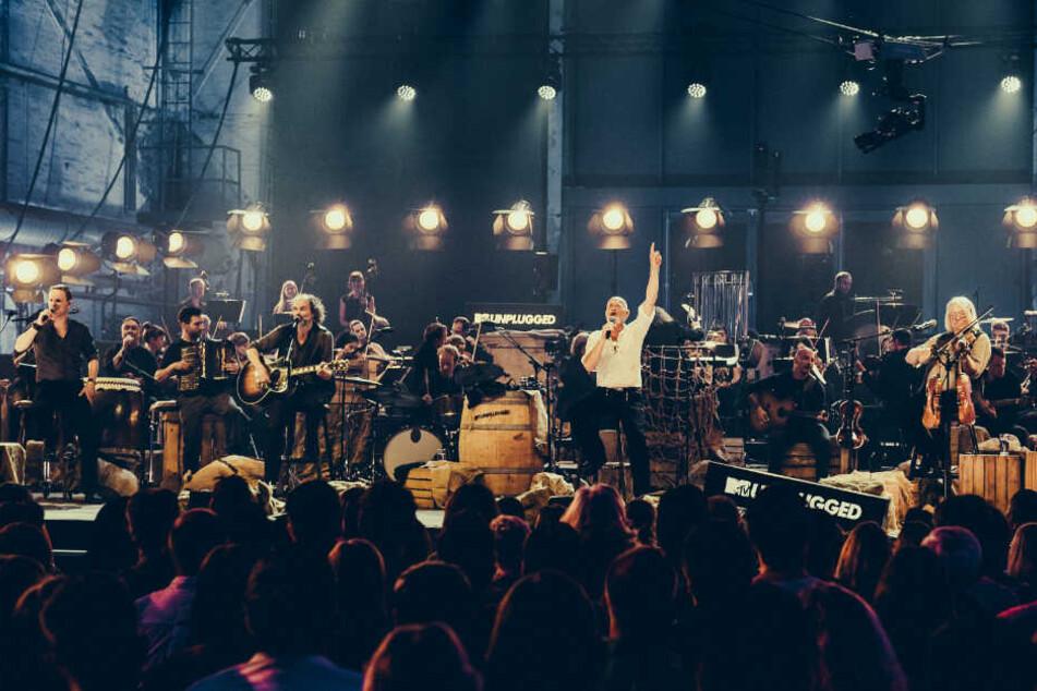 """Santiano haben am 11. und 12. Juni in der Kulturwerft Golan ihr neues Album """"MTV Unplugged"""" aufgenommen."""