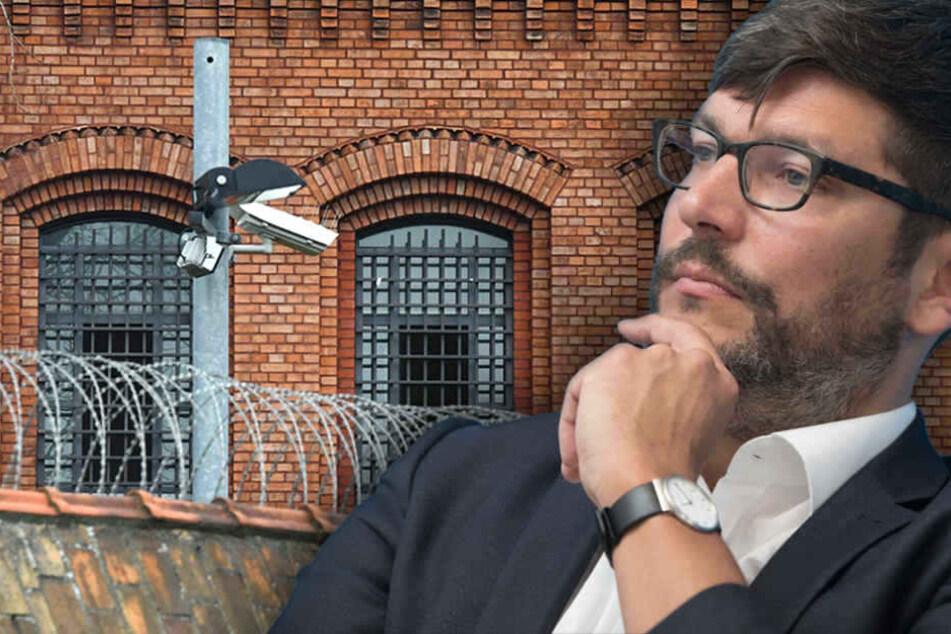 Justizsenator Dirk Behrendt (47, Grüne) zeigte sich gnädig mit Berliner Inhaftierten. (Bildmontage)