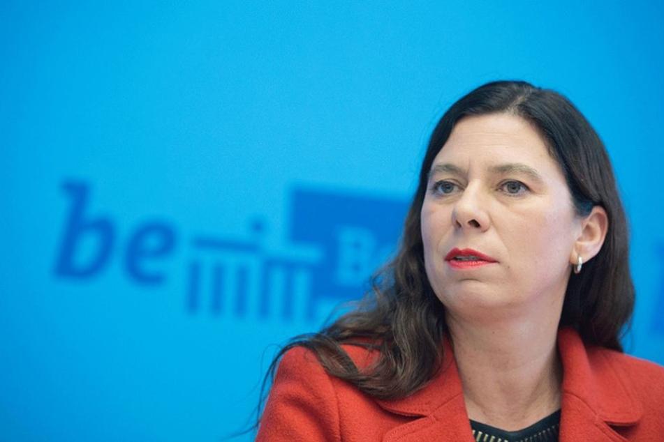Familiensenatorin Sandra Scheeres (SPD).