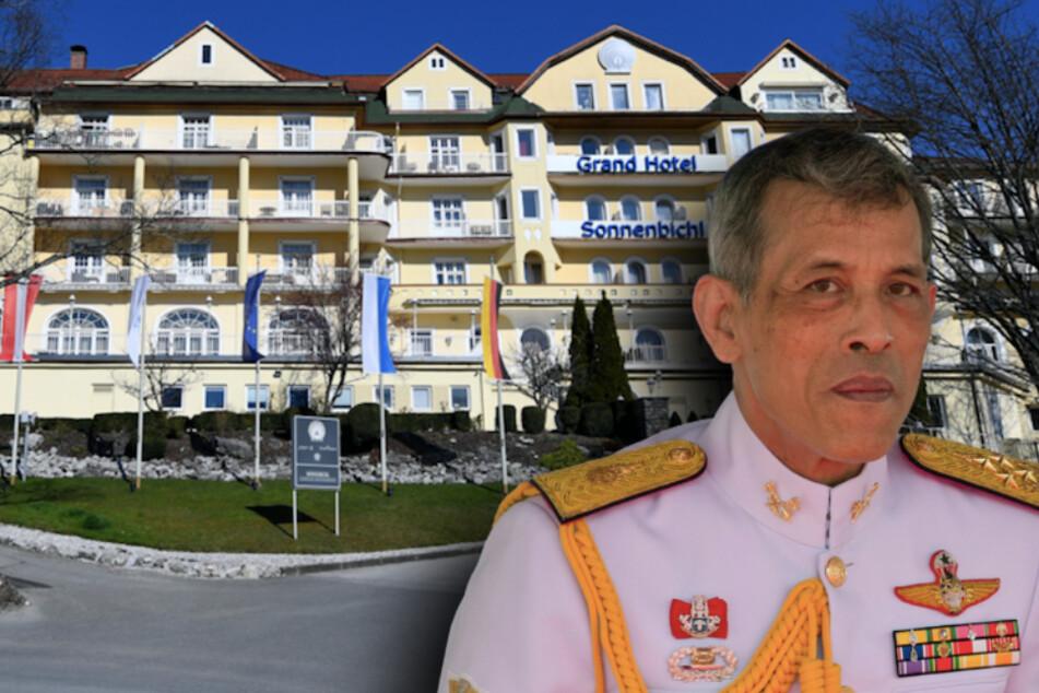 Corona-Ausnahme: Thai-König residiert mit Gefolge in Berg-Hotel