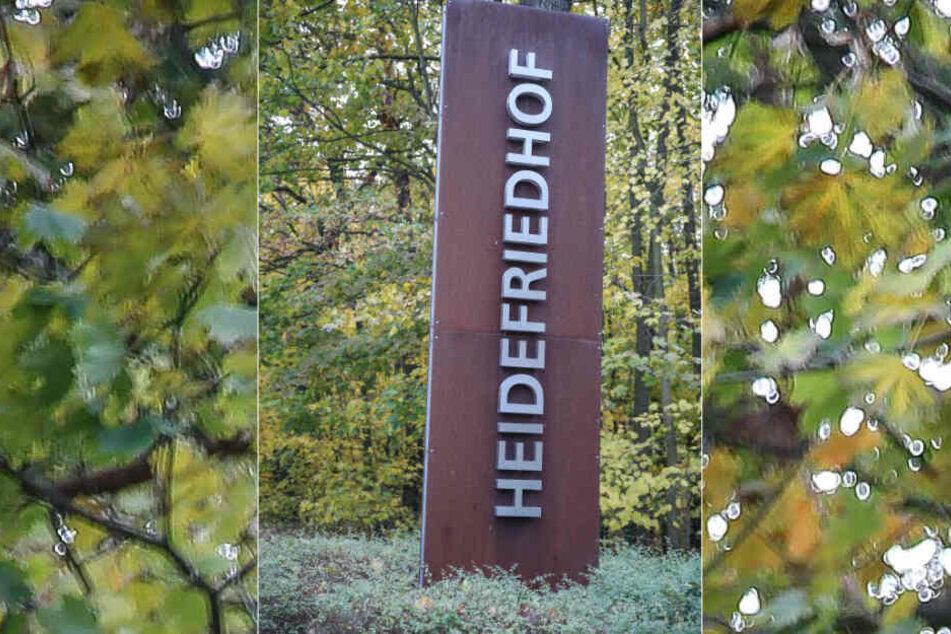 Auf dem Heidefriedhof in Dresden sollen die Namen der Bombentoten verlesen werden.