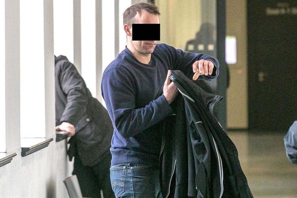 Lars K. (33) steht nicht das erste Mal vor Gericht.