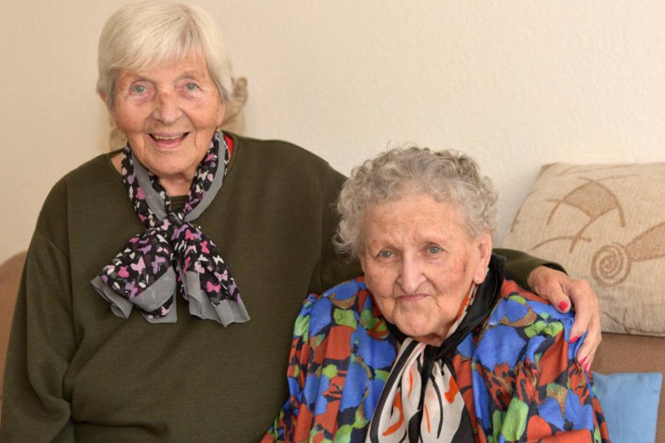 40 Jahre lang waren die beiden Schwestern getrennt.