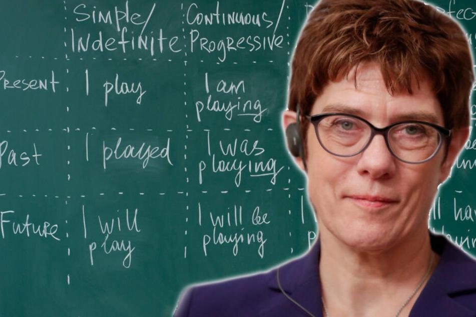Als Verteidigungsministerin hat Annegret Kramp-Karrenbauer (56) etliche Termine auf internationalem Parkett. (Bildmontage/Symbolbild)