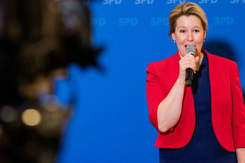 Mietendeckel in Berlin: Franziska Giffey schlägt sich auf Seite der Investoren