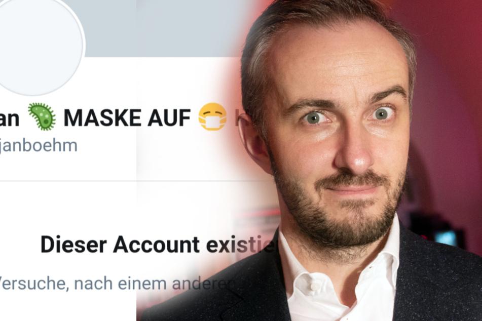 Profile bei Twitter und Facebook gelöscht! Wo steckt Jan Böhmermann?
