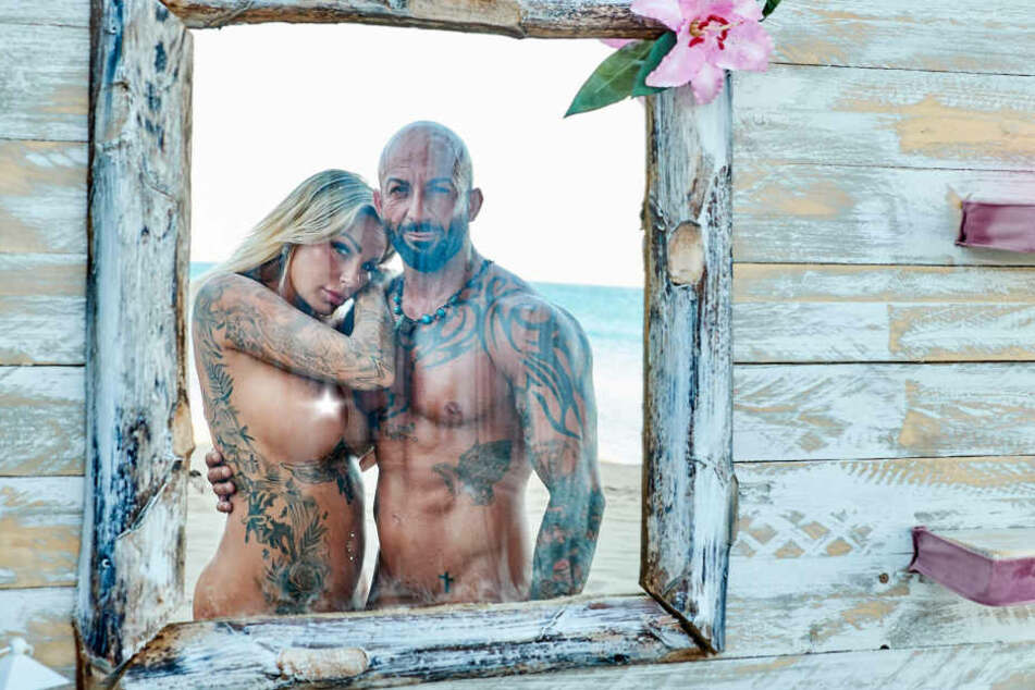 Gina-Lisa Lohfink und ihr Antonino sind ein Paar.