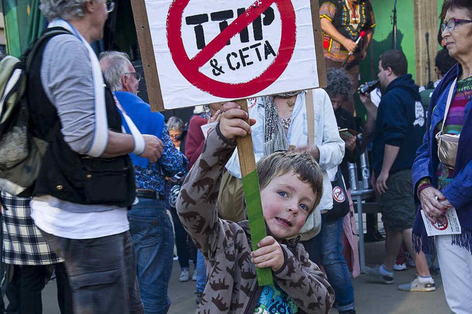 Haben die Anti-CETA-Proteste Auswirkungen?