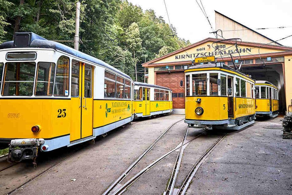 Tresorknacker erbeuteten mehrere Zehntausend Euro bei der historischen Kirnitzschtalbahn.