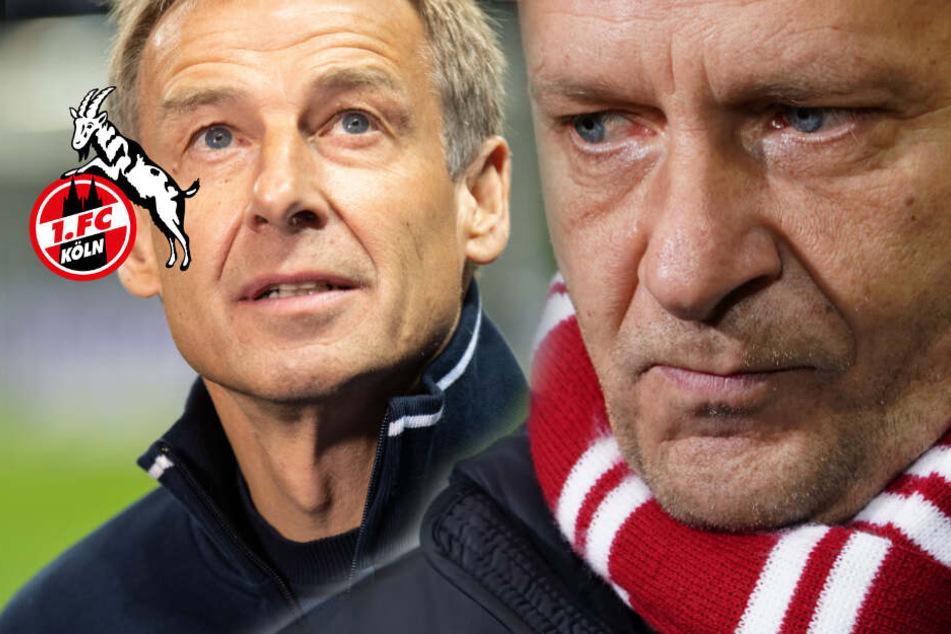 "Kölns Sportchef Horst Heldt kritisiert Jürgen Klinsmann: ""Extrem unverschämt"""