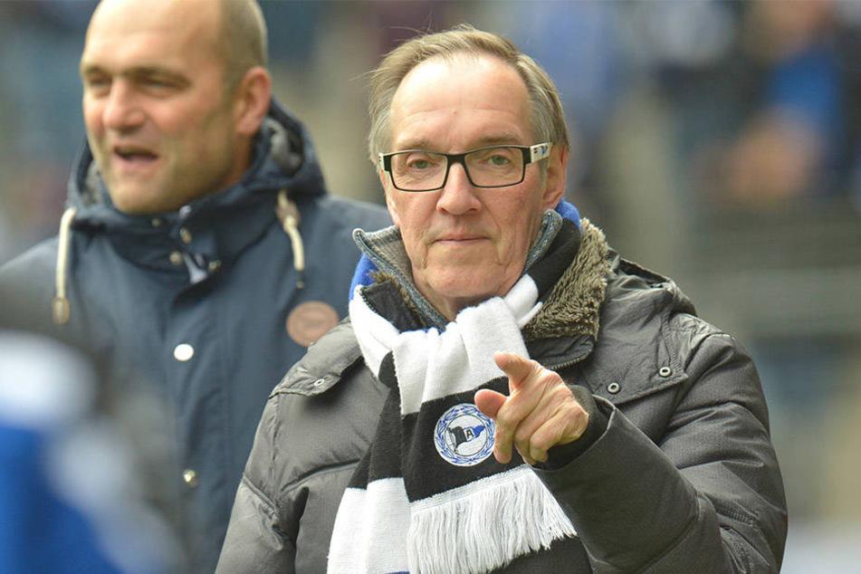 Präsident Laufer ist auf der Suche: Wer will Trainer bei Arminia Bielefeld sein?