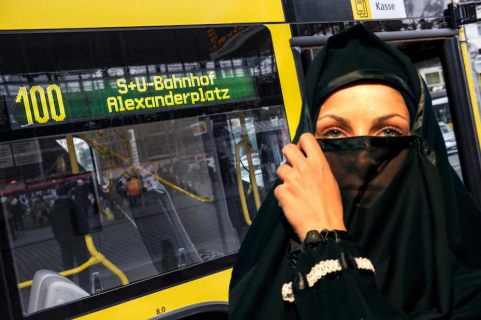 Busfahrerin beleidigt verschleierte Muslima und zeigt ihr den Hitlergruß!