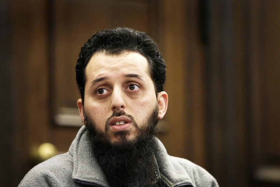 Mounir el Motassadeq im Jahr 2007 in Hamburg vor Gericht. (Archivbild.)