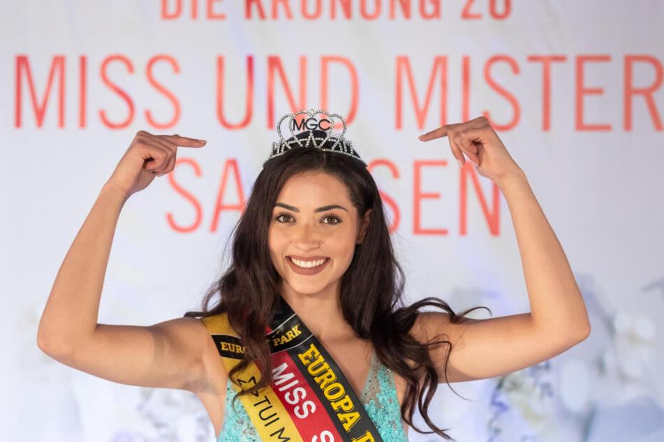 Im November wurde Anastasia zur Miss Sachsen gewählt.