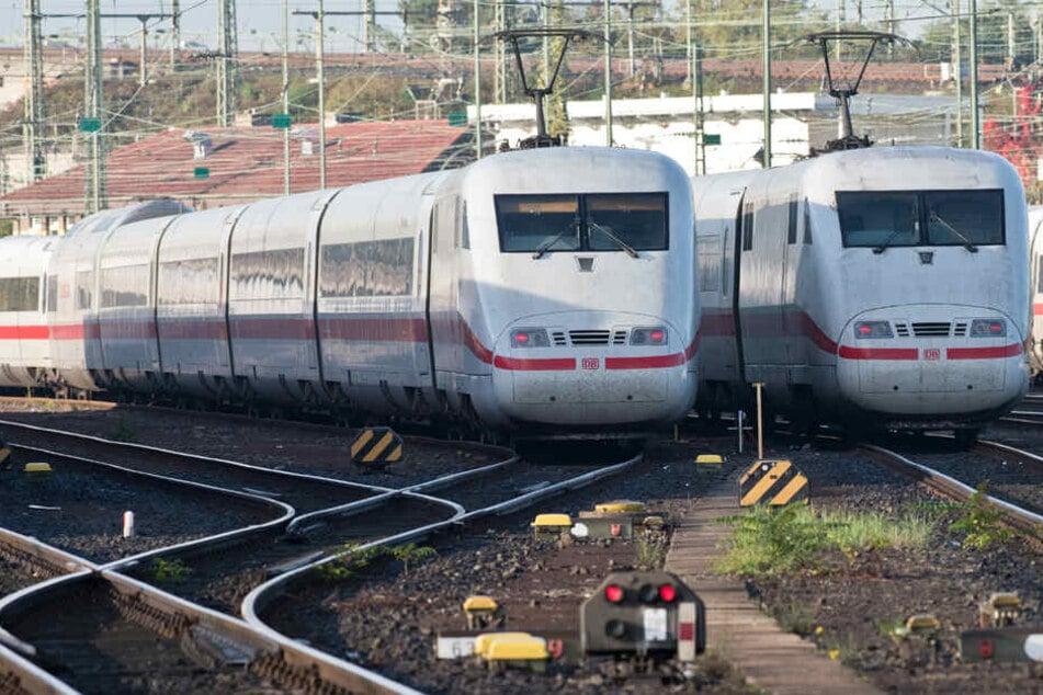 Bahn-Strecke zwischen Mannheim und Frankfurt ist wieder frei!