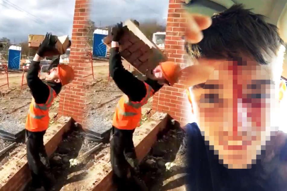 Bauarbeiter (22) will besonders cool sein und macht fatalen Fehler
