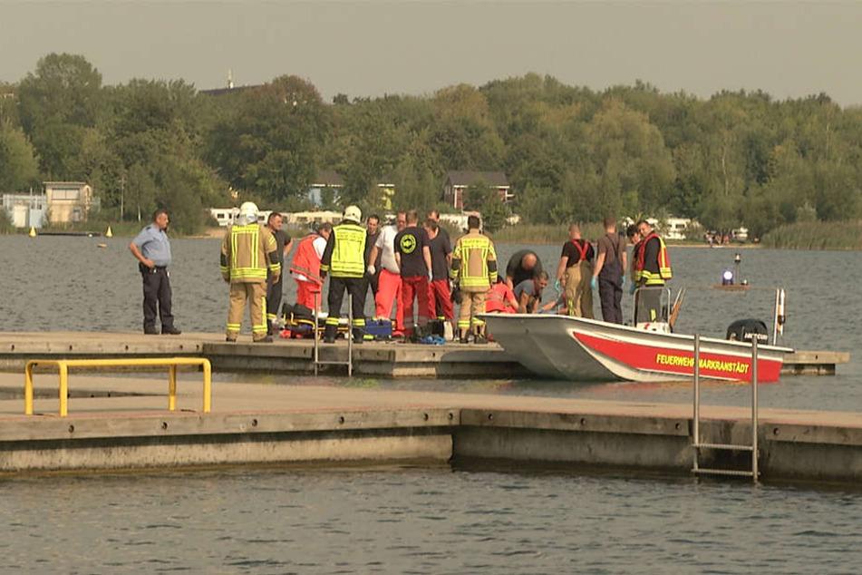 Todes-Drama im Kulkwitzer See! Drei Badegäste untergegangen, ein Mann tot