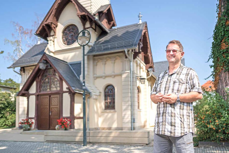 Dresden: Hochwürden gibt sich die Ehre: Das ist der neue Pfarrer vom Weißen Hirsch