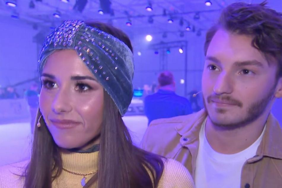 Sarah (26) und Joti (23) hatten die Jury und das Publikum mit ihren Eislaufkünsten verzaubert.