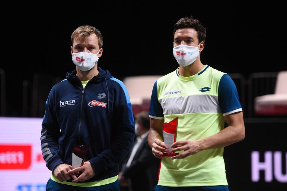 Tennis-Doppel: Mies und Krawietz verlieren im Finale von Köln