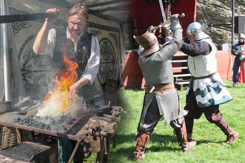 Mittelalter-Feeling: In Rabenstein sind Ostern die Ritter los