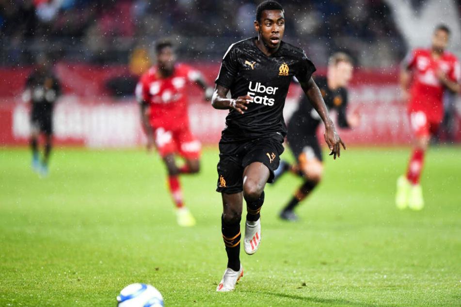 Isaac Lihadji debütierte bereits für die Profis von Olympique Marseille in der Ligue 1.
