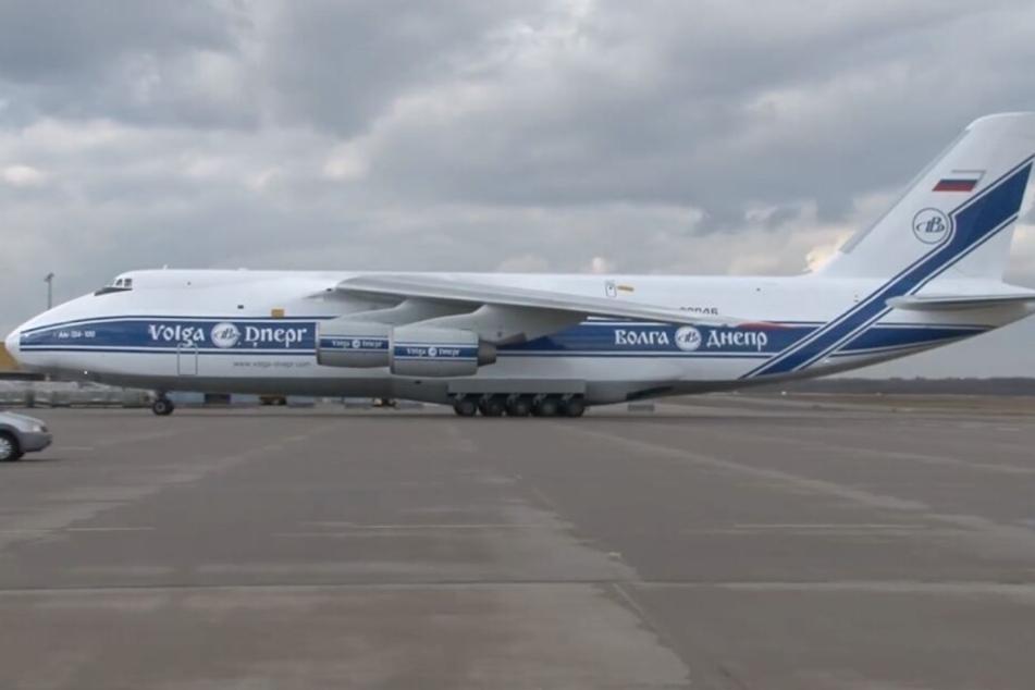 Der Riesen-Flieger landete sicher am Flughafen Köln/Bonn.