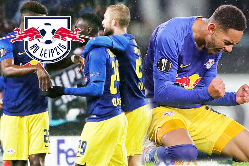 3:1 in der Kältekammer! RB Leipzig mit wichtigem Europa-League-Sieg