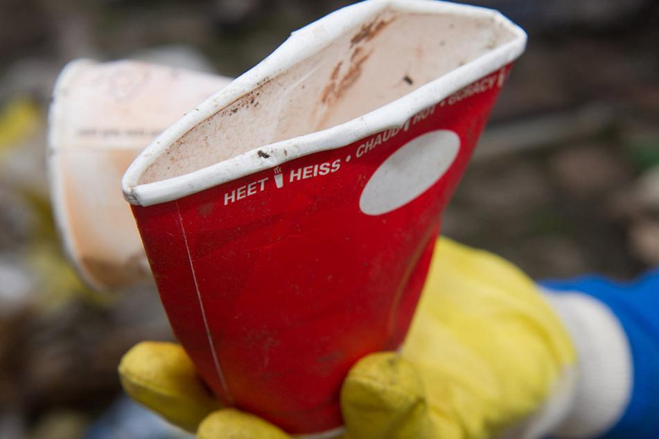 320.000 Coffee-to-Go-Becher werden stündlich in Deutschland verbraucht.