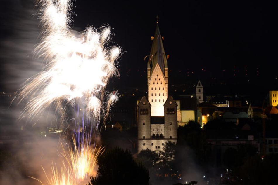 Jedes Jahr kommen rund 15.000 Besucher zum Feuerwerk.