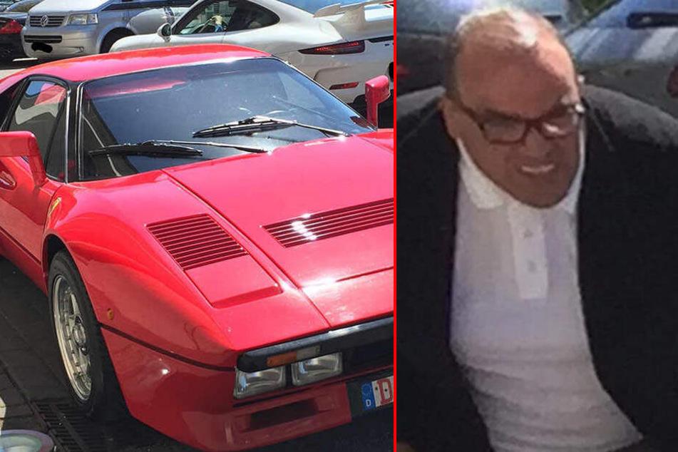 2-Millionen-Euro-Ferrari wieder da: Nun fahndet Polizei nach dem Dieb