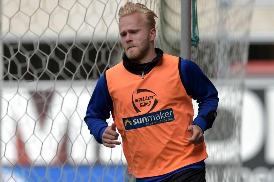 Auch Marcel Hilßner möchte nicht zurück in die 3. Liga.