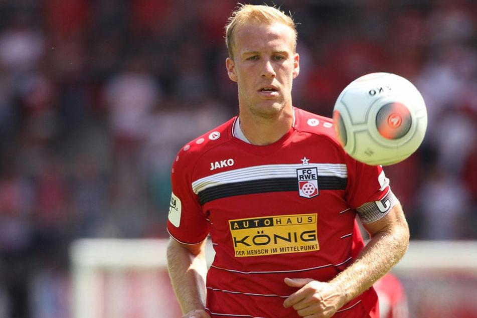 Kapitän Jens Möckel (29) fällt beim ersten Auswärtsspiel gegen den 1. FC Magdeburg aus.