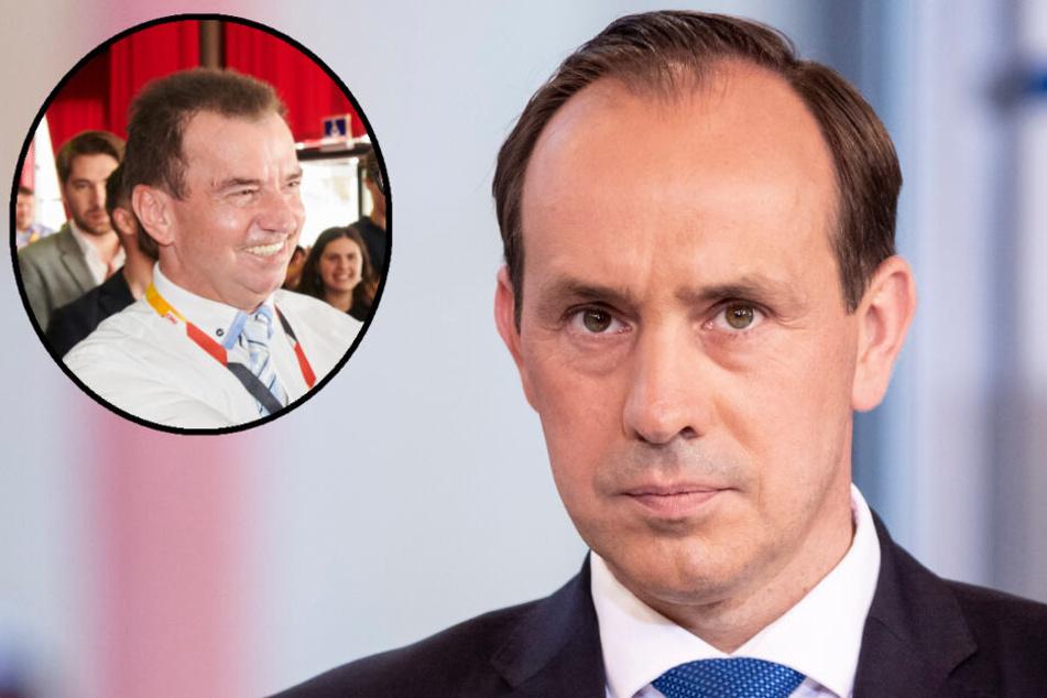 Frank Bommert (l.) fordert den Rücktritt von Brandenburgs CDU-Chef Ingo Senftleben (r.). (Bildmontage)