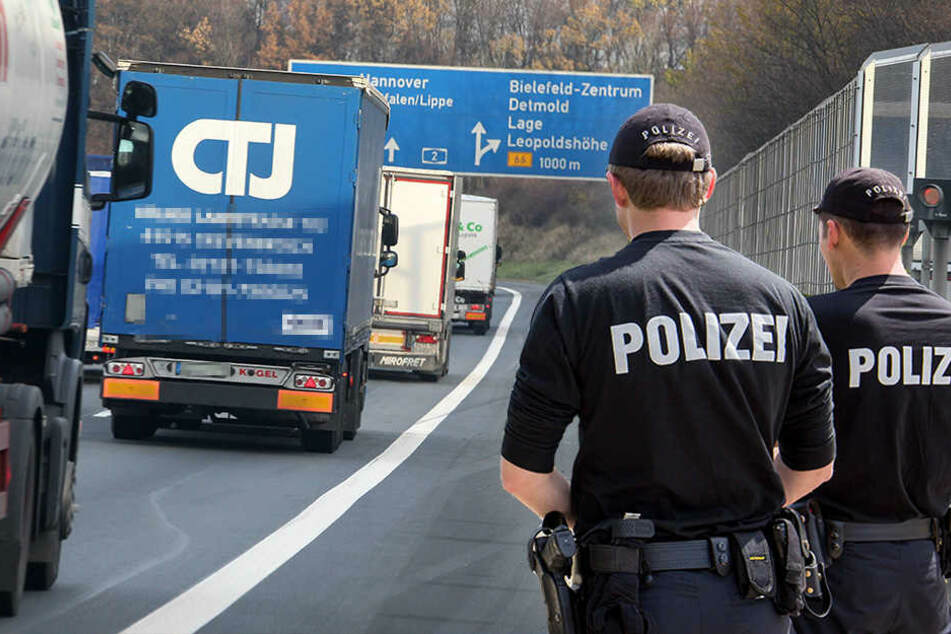 Die Polizei fahndet nach den beiden Flüchtigen. (Symbolbild)