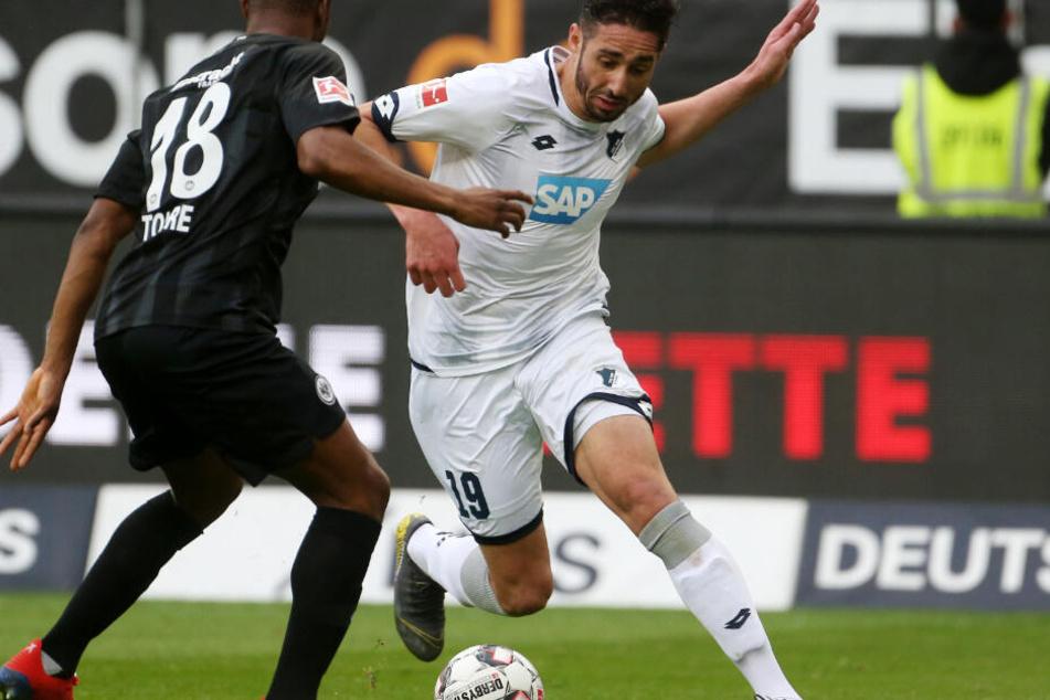 Knieverletzungen sind im Fußball keine Seltenheit. Der Hoffenheimer Ishak Belfodil riss sich am Ende der letztjährigen Rückrunde das Kreuzband, spielte dennoch zunächst für Wochen weiter.