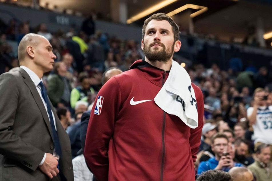 Beschreibt seinen Kampf mit psychischen Störungen: Kevin Love von den Cleveland Cavaliers.
