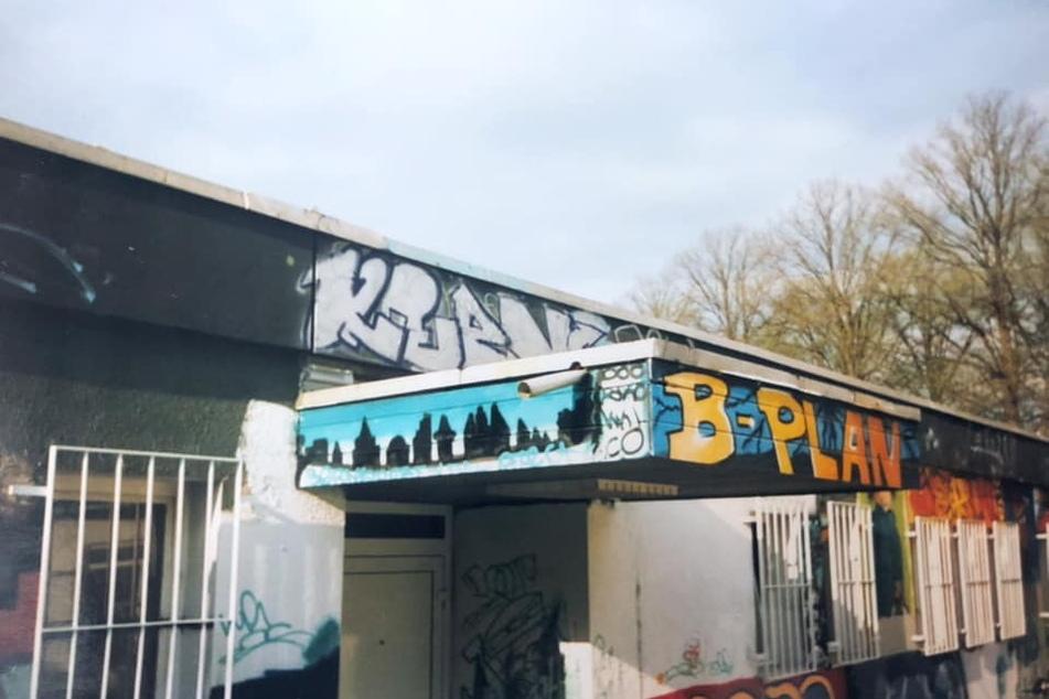 Heimat der jungen Graffiti-Szene: der Jugendclub um 1993.
