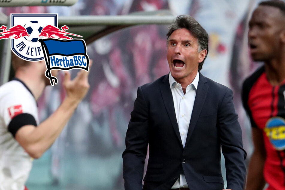 RB Leipzig dreht Partie gegen Hertha BSC in Unterzahl, verpasst den Sieg aber doch noch
