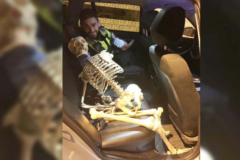 Am Karnevalssonntag wurde dieses Skelett gefunden.