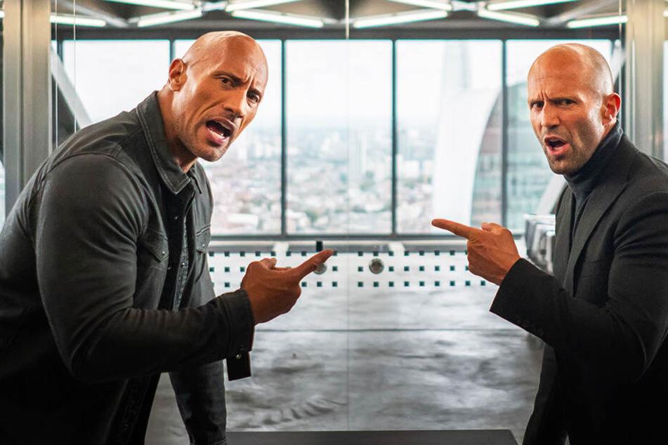 """Irre Action: Statham und Johnson rocken ersten Trailer zu """"Hobbs & Shaw!"""