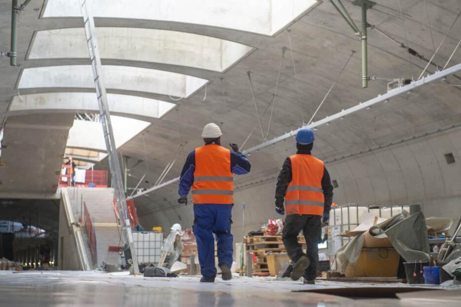 Rund drei Jahre lang dauerten die Bauarbeiten an der neuen S-Bahn-Station an.